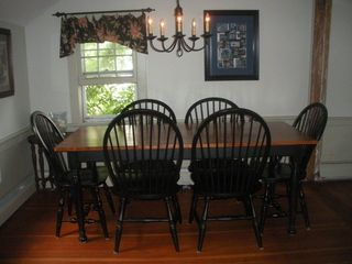 Nantucket Town house photo - Dining room