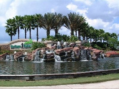 The main gate at Hertitage Palms Ft Myers Flordia