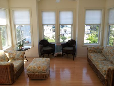3rd Floor Living Room with beautiful views
