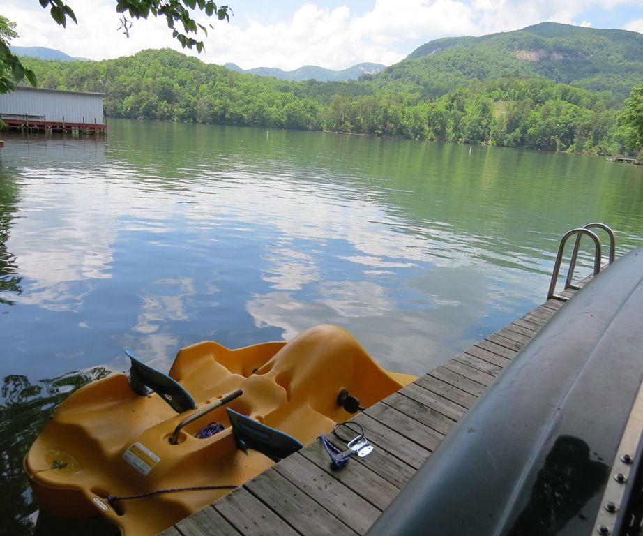 Let's go for a paddleboat ride or a canoe ride or . . .