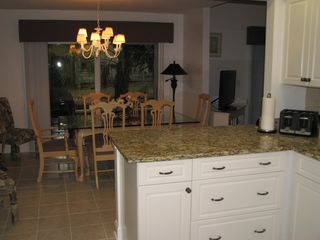 Sea Pines villa photo - Kitchen to Dining Rm.