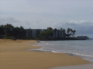 Kihei condo photo - Royal Mauian Jewel on the beach, this is your beach viewed from #306