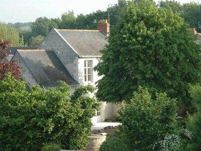 House on island near Angers Loire