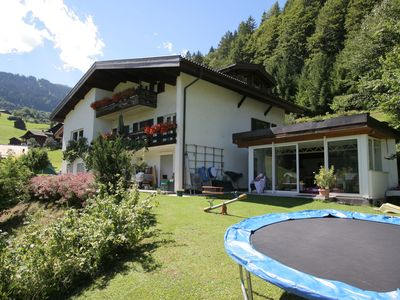 Spacious property with large relaxation  meadow and sun terrace.