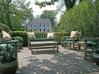 Nantucket Town house photo - Front Side Patio - View No. 2
