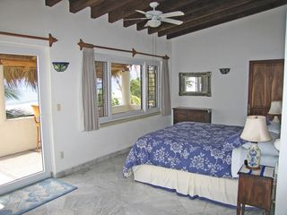 Bucerias villa photo - Master bedroom upstairs