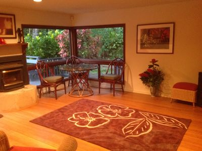 Waikane estate rental - .Living room