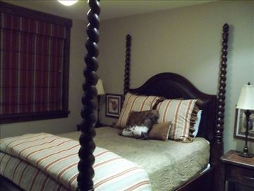 Cowboy bedroom- Queen Bed Custom linens