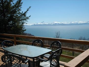 Homer house rental - What a great place to have a relaxing moment!