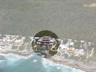 Mi Casa del Mar from the air