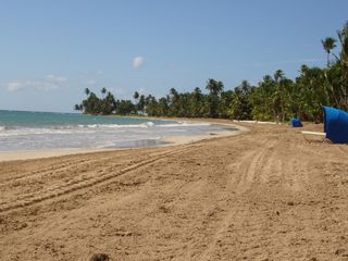 Humacao condo photo - View down the Beach Right