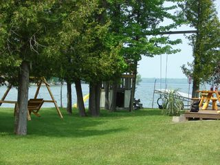 Alpena cottage photo - lake view, play center