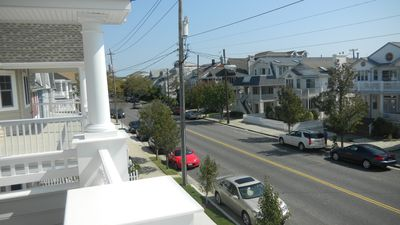 Boardwalk condo rental - Front porch view