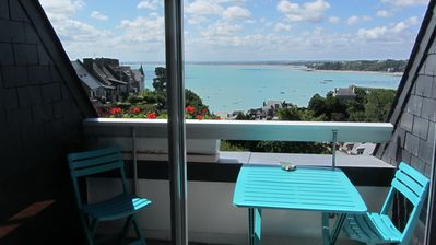 CANCALE APARTMENT 3/4 PERS -54 M²-BEAUTIFUL SEA VIEW - Private parking - 3 *