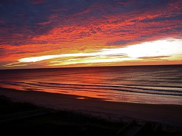 Just another North Topsail Sunrise (from porch)