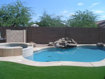 Apache Junction house rental - Heated pool, spa, and waterfall
