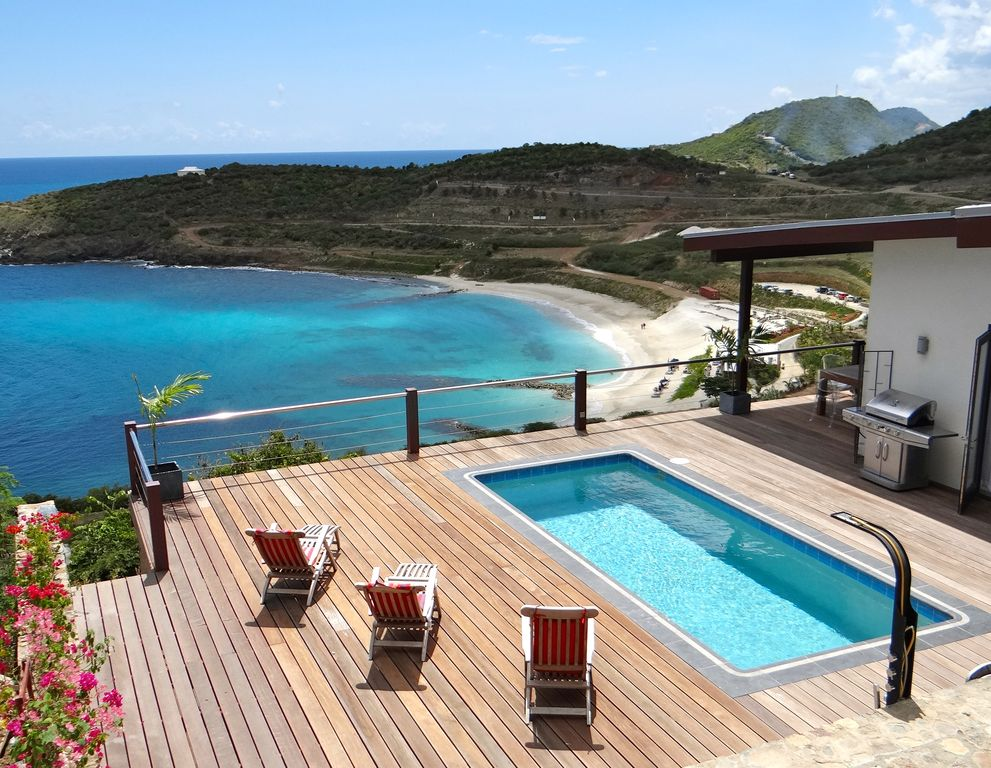 New house piscine grand pont incredible beach sunsets for Alarme piscine home beach