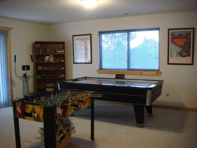 Lower Level Family-Game Room