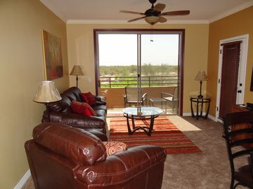 Other Scottsdale Properties condo rental - Relax in the comfortable living room-enjoy unobstructed views off your patio!