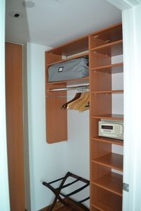Master Bedroom Closet with Safe