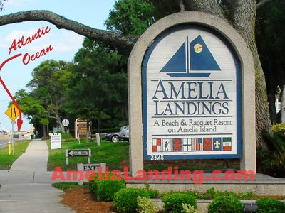 Amelia Landings is a block from the gorgeous Amelia Beach.