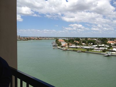 Fabulous Balcony View of Boca Ciega Bay