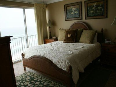 Master Bedroom & Gulf Front View
