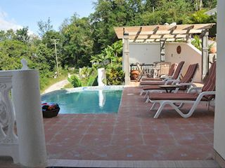 Marigot Bay villa photo - Pool