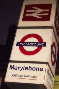 Marylebone apartment rental - Tube Train and Buses less than five minutes
