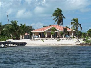 Ambergris Caye house photo - The Property as Seen from the Caribbean