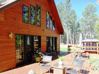 Deadwood cabin photo - Deck/ Hot Tub