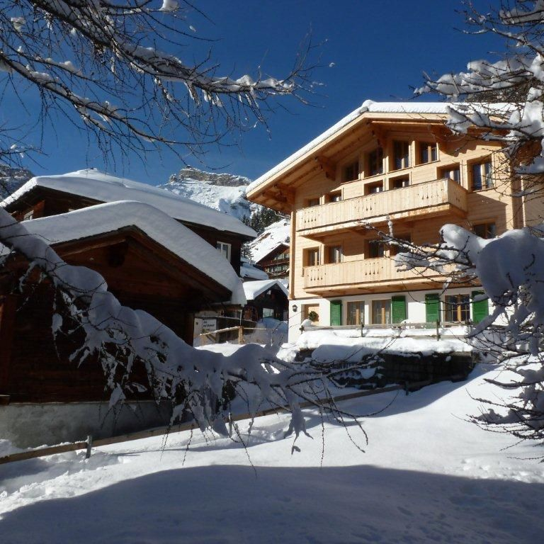 Luxury accommodation Murren, 220 square meters, recommended by travellers !