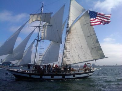 Mission Beach condo rental - The Festival of Sail on the Big Bay is very fun!!