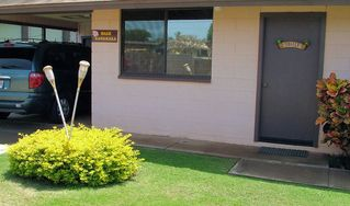 Kihei cottage photo - Park in your private car port.