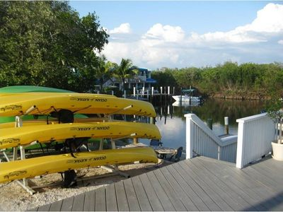 Free use of kayaks to explore the lagoon and Safety Harbor