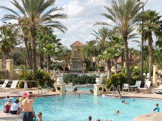 Regal Palms villa photo - Lazy River, Water Slide, Kids and Adult pools, Hot Tub, Jacuzzi, Workout Center