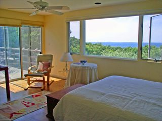 Chilmark house photo - MBR w/ fabulous H20views as well as a separate area w/ a sink & built-in closet