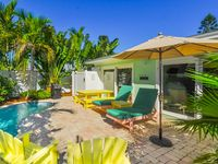 Surf Camp is close to the beach and desired surf location with a heated pool!