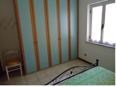 San Teodoro apartment rental - Master Bedroom: wardrobe