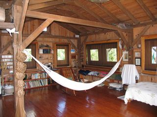 Lubbers Quarters Cay cottage photo - Chill inside on the hammock made for two!