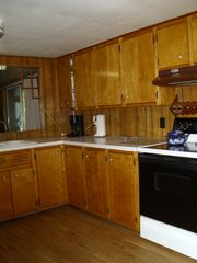 Baldwin / Walhalla cottage photo - Red cottage kitchen. Nice and large for plenty of cooks.
