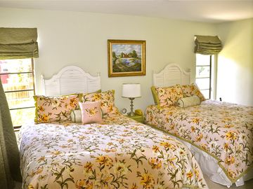 Guest Bedroom with Queen Beds with adjacent Full Bath