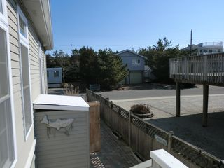Harvey Cedars house photo - .From side kitchen door down to barbecue area