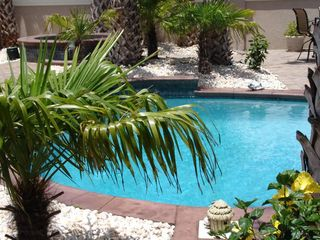 Cherry Grove Beach estate photo - Tropical Landscaping and Jacuzzi