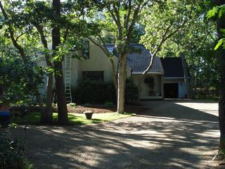 Edgartown house photo - House is Very Private, Setback Far from Street and in excellent condition.