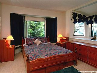 Whistler townhome photo - Queen Bedroom 2