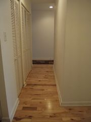 Greenbelt condo photo - Hallway with exotic wood floors thru out