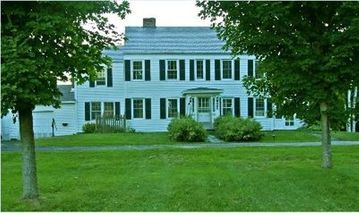Lake Bomoseen estate rental - Our updated Historic 1933 Colonial Country Home on 22.6 acres