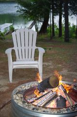 Kalkaska cottage photo - Fire pit