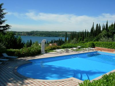 I Molini - apartment near Lake Garda with pool and views